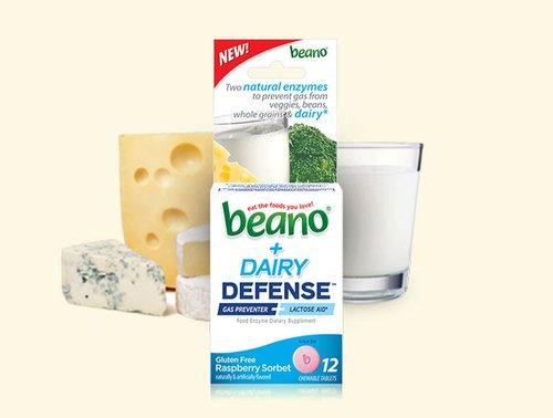 beano® + Dairy Defense